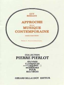Approche de la Musique Contemporaine Volume 2 Guy Remaud laflutedepan
