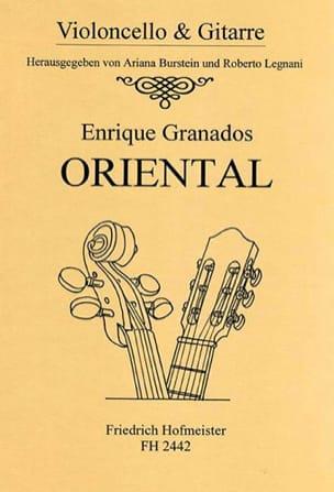 Oriental GRANADOS Partition 0 - laflutedepan
