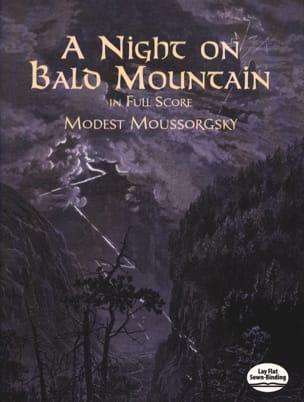Night on the Bare Mountain - Full Score MOUSSORGSKI laflutedepan