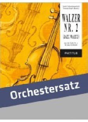 Valse n° 2 Valse-Jazz CHOSTAKOVITCH Partition ENSEMBLES - laflutedepan