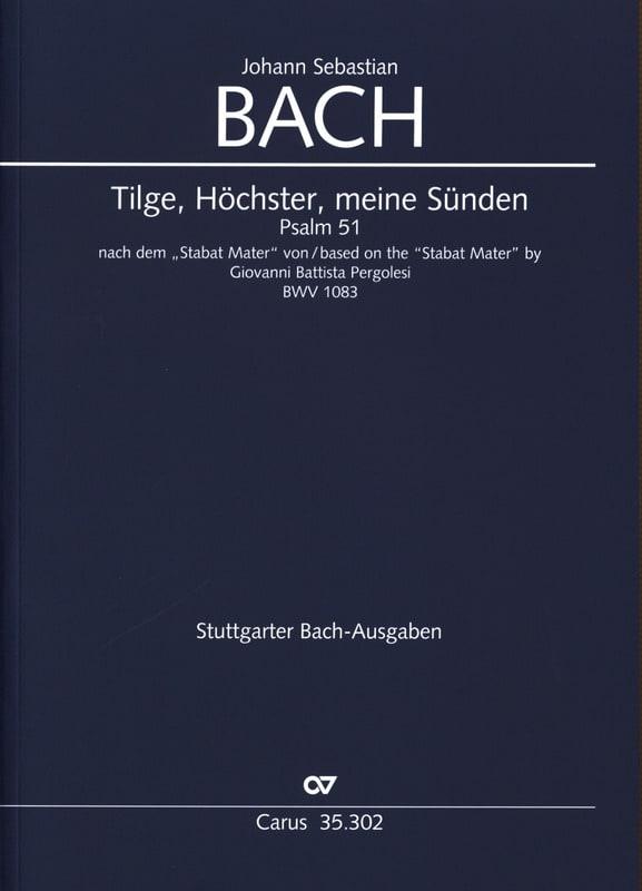 Psalm 51, Tilge, Höchster - Partitur - laflutedepan.com