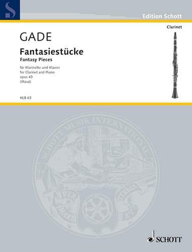 Fantasiestücke Op.43 - Niels Wilhelm Gade - laflutedepan.com