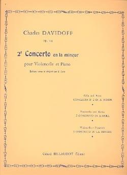 Concerto N° 2 Op. 14 en la Mineur Charles Davidoff laflutedepan