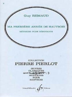 Ma première année de hautbois Guy Remaud Partition laflutedepan