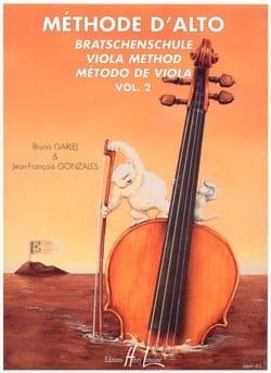 Méthode d'Alto - Volume 2 GARLEJ - GONZALES Partition laflutedepan