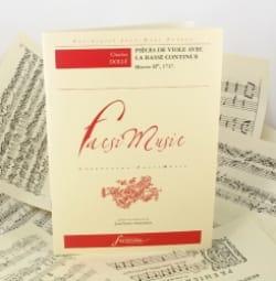 Pièces de viole avec basse continue op. 2 Charles Dollé laflutedepan