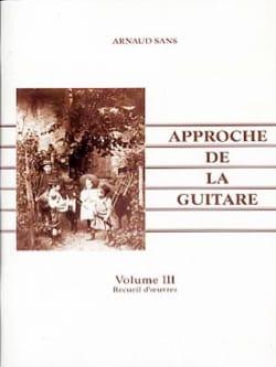 L' Approche de la guitare volume 3 Arnaud Sans Partition laflutedepan