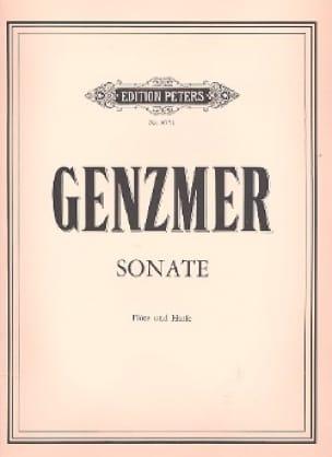 Sonate - Flöte Harfe - Harald Genzmer - Partition - laflutedepan.com