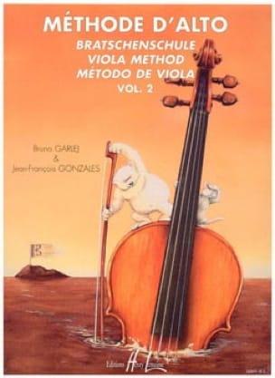 Méthode d'Alto - Volume 2 - GARLEJ - GONZALES - laflutedepan.com