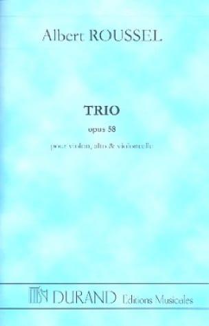 Trio op. 58 - Conducteur - ROUSSEL - Partition - laflutedepan.com