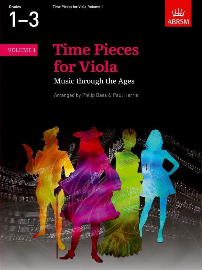 Time Pieces For Viola Volume 1 - laflutedepan.com