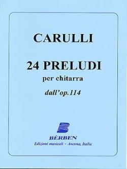 24 Preludi dall' op. 114 - Chitarra Ferdinando Carulli laflutedepan