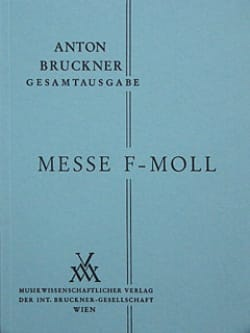 Messe f-moll - BRUCKNER - Partition - Petit format - laflutedepan.com