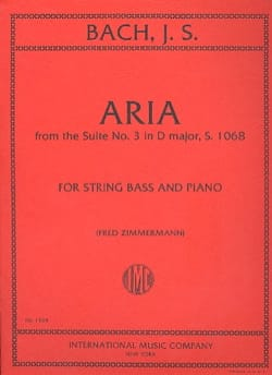 Aria from the Suite n° 3 in D major - String bass BACH laflutedepan