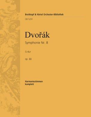 Symphonie N° 8, op. 88 DVORAK Partition laflutedepan