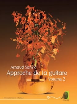 Approche de la Guitare volume 2 Arnaud Sans Partition laflutedepan