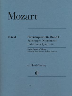 Quatuors à Cordes - Volume 1 MOZART Partition Quatuors - laflutedepan