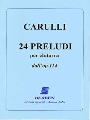 24 Preludi dall' op. 114 - Chitarra - laflutedepan.com