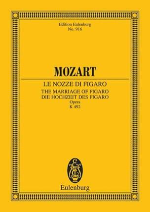 Die Hochzeit des Figaro - Partitur MOZART Partition laflutedepan