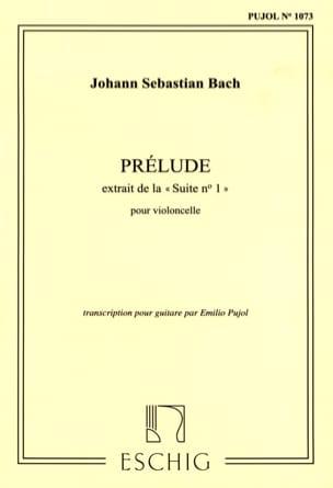 Prélude - Guitare BACH Partition Guitare - laflutedepan