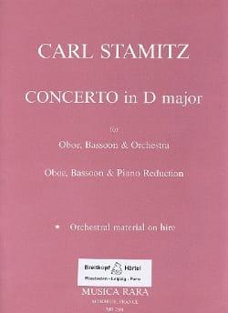 Concerto in D major -Oboe bassoon piano STAMITZ laflutedepan