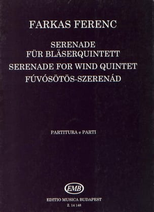 Serenade -Bläserquintett - Partitur + Stimmen laflutedepan