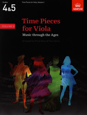 Time pieces for Viola, Volume 2 Bass Philip / Harris Paul laflutedepan
