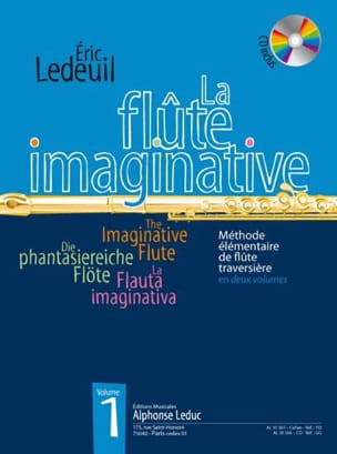 La Flûte Imaginative Volume 1 Eric Ledeuil Partition laflutedepan