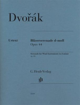 Sérénade en ré mineur, opus 44 Antonin Dvorak Partition laflutedepan
