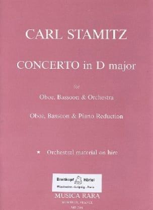 Concerto in D major -Oboe bassoon piano - STAMITZ - laflutedepan.com