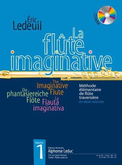La Flûte Imaginative Volume 1 - Eric Ledeuil - laflutedepan.com