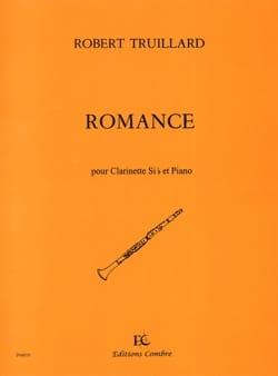 Romance Robert Truillard Partition Clarinette - laflutedepan