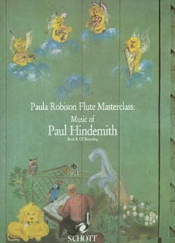 Music of Paul Hindemith - Book HINDEMITH Partition laflutedepan