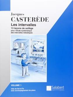 Les Intervalles - Volume 1 Jacques Castérède Partition laflutedepan