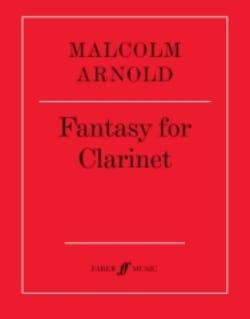 Fantasy for clarinet Malcolm Arnold Partition laflutedepan