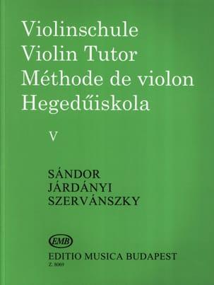 Méthode de violon - Volume 5 laflutedepan