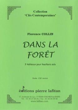 Dans la Forêt 3 Tableaux Florence Collin Partition laflutedepan