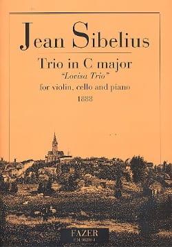 Klaviertrio C-Dur Lovisa Trio -Stimmen - SIBELIUS - laflutedepan.com