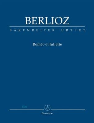 Roméo et Juliette - Conducteur BERLIOZ Partition laflutedepan
