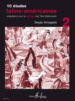 10 Etudes Latino-Américaines Volume 2 - laflutedepan.com