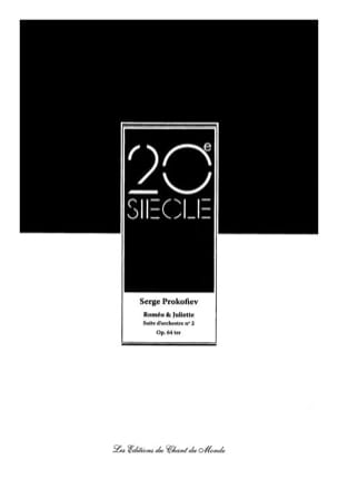Roméo et Juliette - Suite d'Orchestre N° 2 Opus 64ter laflutedepan