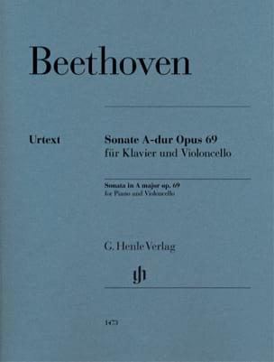 Ludwig van Beethoven - Sonata, opus 69 - Partition - di-arezzo.com