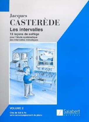 Les Intervalles - Volume 2 - Jacques Casterède - laflutedepan.com