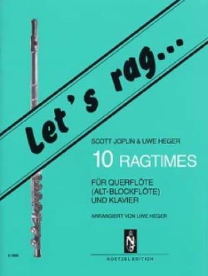 10 Ragtimes - Flöte o. Blockflöte Klavier - laflutedepan.com