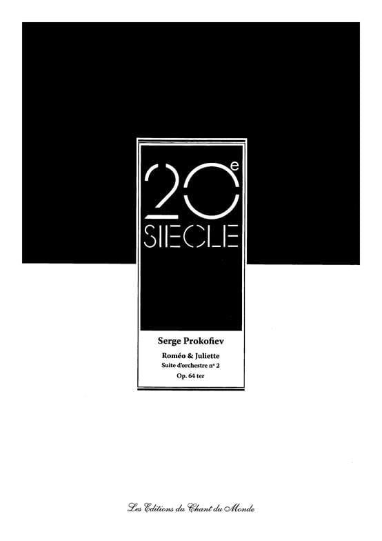 Roméo et Juliette - Suite d'Orchestre N° 2 Opus 64ter - laflutedepan.com
