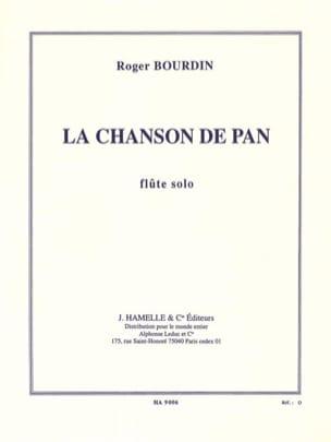 La chanson de Pan Roger Bourdin Partition laflutedepan