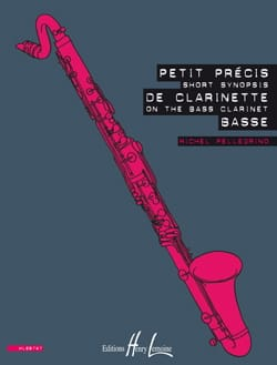 Petit Précis de Clarinette Basse - laflutedepan.com