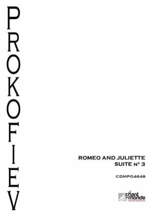 Roméo et Juliette - Suite d'Orchestre N° 3 Opus 101 laflutedepan