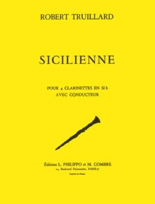 Sicilienne - Robert Truillard - Partition - laflutedepan.com