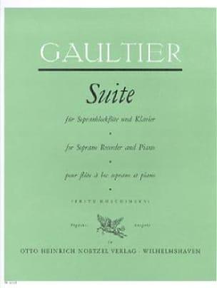 Suite - Sopranblockflöte Klavier - laflutedepan.com